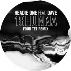 Headie One Ft Dave : 18 Hunna (Four Tet Remix) (12 Vinyl) (Grime)""