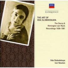 Oda Slobodskaya : Art of Oda Slobodskaya (CD) (Classical)