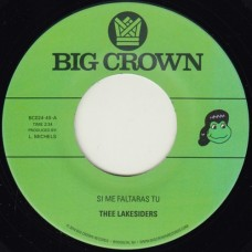 Thee Lakesiders : Si Me Faltaras Tu / Parachute (7 Single) (Funk and Soul)""