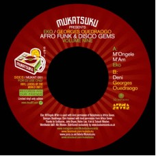 Eko and Georges Ouedraogo : Afro Funk and Disco Gems Volume Nine (7 Single) (Funk and Soul)""