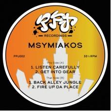 "Msymiakos : Ppj 002 (12 Vinyl) (Drum and Bass)"""
