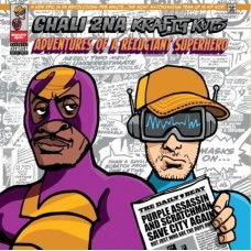 Chali 2NA and Krafty Kuts : Adventures Of A Reluctant Superhero (Dld (Vinyl) (Rap and Hip Hop)
