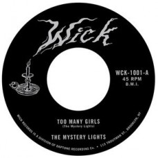 "Mystery Lights : Too Many Girls / Too Tought To Bear (7) (7"" Single) (Funk and Soul)"""