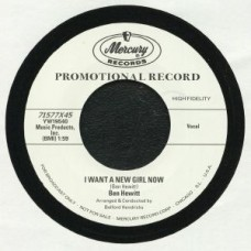 Ben Hewitt : My Search /// I Want A New Girl Now (7 Single) (Juke Box Retro)""