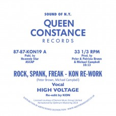 High Voltage / Chain Reaction : Rock, Spank, Freak (Kon Re-work) / Dance (12 Vinyl) (Disco)""