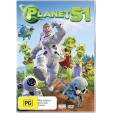 Planet 51 : Movie (DVD) (General)