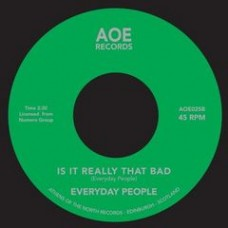 Everyday People : Super Black // Is It Really That Bad (7 Single) (Funk and Soul)""
