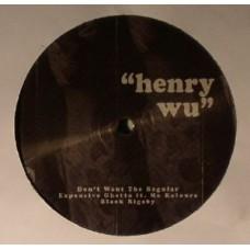 Wu Henry : Good Morning Peckham (Vinyl EPs) (House)