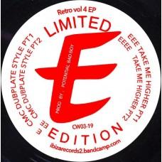 """Potential Badboy : Retro Vol 4 Ep (12 Vinyl) (JUNGLE)"""""""