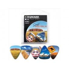 Aussie Scenery Picks (5pk) : Guitar Picks (Guitar Picks) (Accessories)