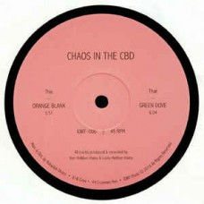 Chaos In The Cbd : Orange Blank / Green Dove (12 Vinyl) (House)""