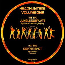 """DRAMA1 and Frighty : Headhunters Vol 1 (12 Vinyl) (Drum and Bass)"""""""
