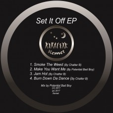 Chatter B and Potential Bad Boy : Set It Off Ep (12 Vinyl) (Drum and Bass)""