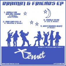 DRAMA1 : DRAMA1 and Friends Ep (Vinyl EPs) (Drum and Bass)