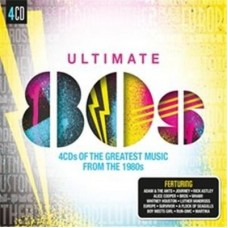 Various Artists : Ultimate... 80's (4CD) (CD) (Various)