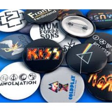 Pin Buttons : Various Designs (Accessories) (Accessories)