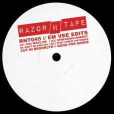 "Em Vee : Em Vee Edits (12 Vinyl) (Nu Disco)"""