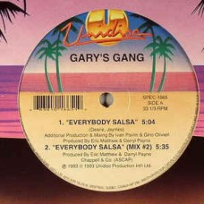 Gary's Gang : Everybody Salsa / Mandolay (12 Vinyl) (Disco)""