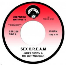 James Brown and The Wu Tang Clan : Sex C.R.E.A.M / Sex Machine ( Dub Edit ) (7 Single) (Funk and Soul)""