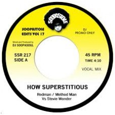 Redman and Method Man Vs Stevie Wonder : How Superstitous (7 Single) (Funk and Soul)""