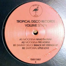 Various Artists : Tropical Disco Records Vol. 7 (12 Vinyl) (Nu Disco)""