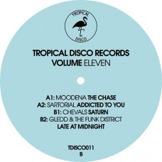 Various Artists : Tropical Disco Records, Vol. 11 (Vinyl) (Nu Disco)