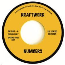 "Kraftwerk : Numbers // Computer World 2 (Bass Mix) (7 Single) (Electronic)"""