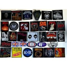 Woven Patches : General Music (Turntable Belts) (Sale Stock)